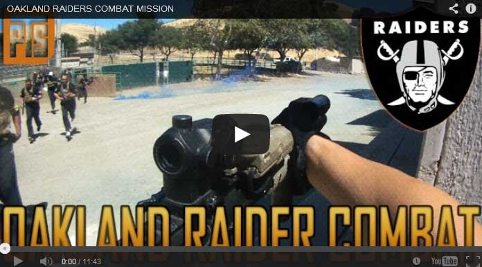 Hit the field with the Raiders!