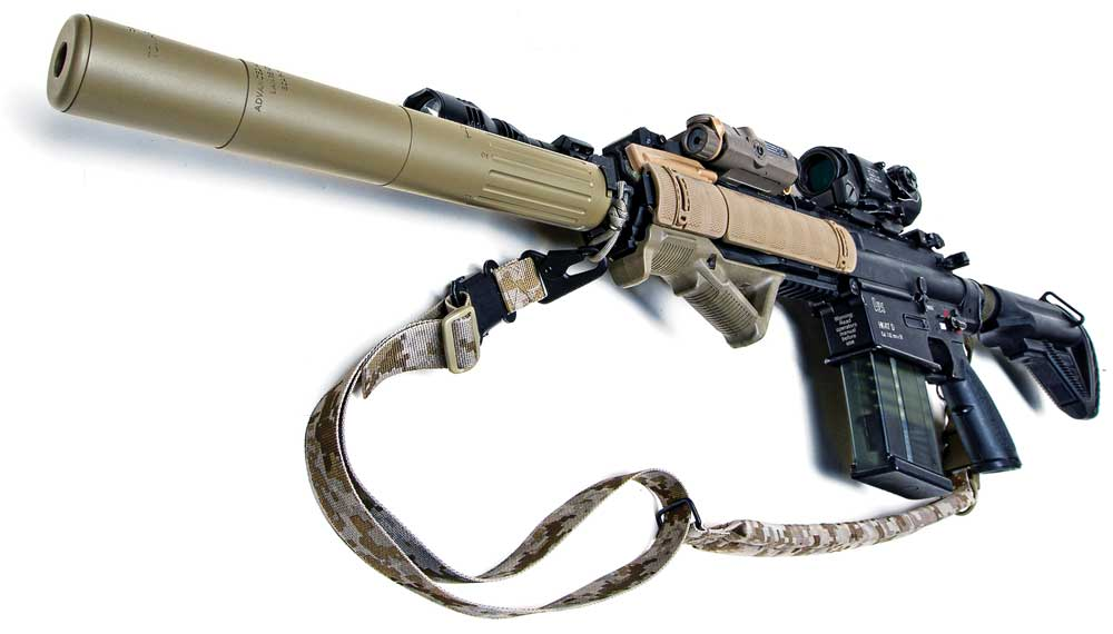 PTS AAC Scar-H SD 7.62 Mock Silencer