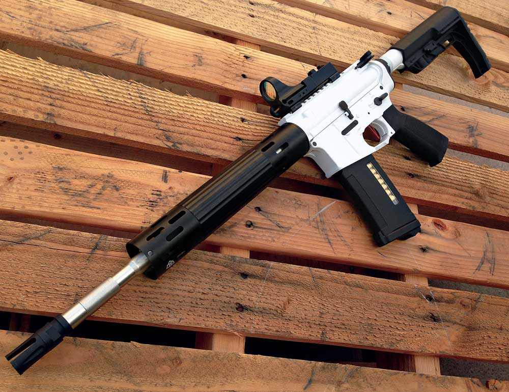Lightweight AEG Race Rifle Part III