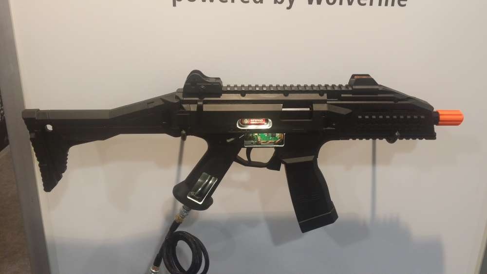 SHOT Show 2016: HPA Equipped ASG CZ Scorpion EVO 3-A1
