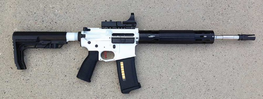 Lightweight AEG Race Rifle Part V p10