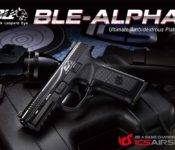 ICS Airsoft Releases BLE ALPHA GBB Pistol
